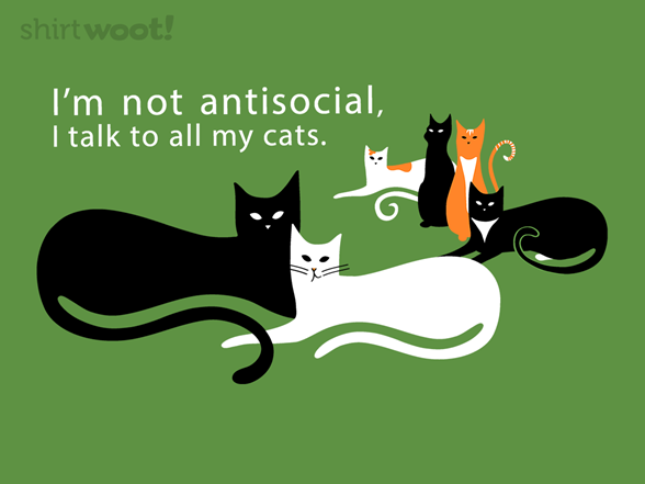 Woot!: Feline Friends