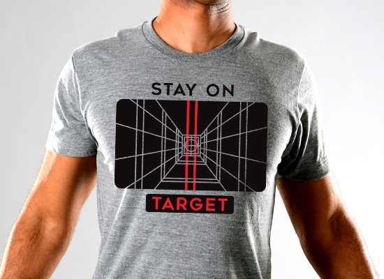SnorgTees: Stay On Target Limited Edition Tri-Blend