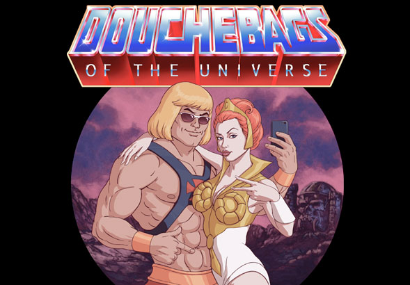 teeVillain: DOUCHEBAGS of the UNIVERSE