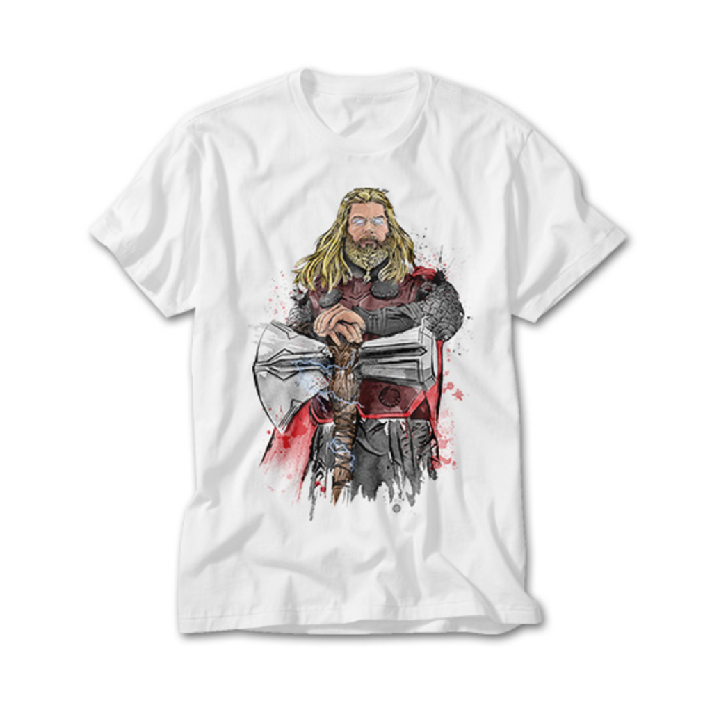 OtherTees: God of Thunder Watercolor