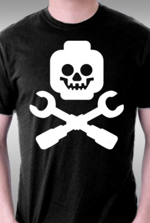 TeeFury: Brick and Crossbones
