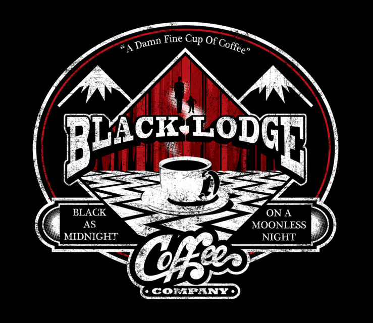 TeeFury: Black Lodge Coffee Company