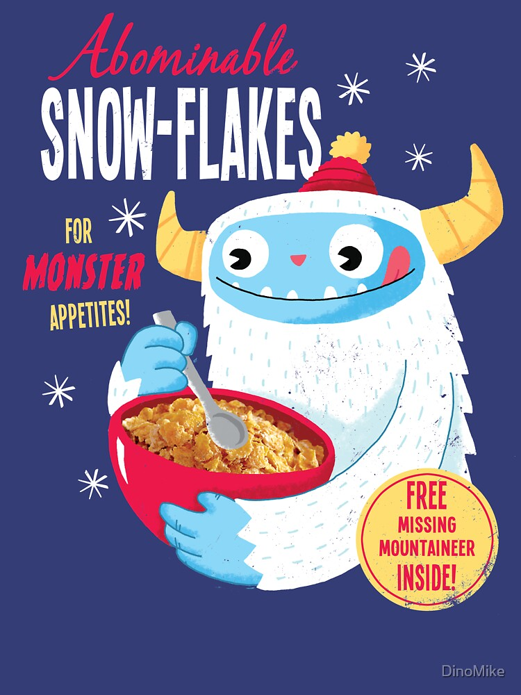RedBubble: Abominable Snowflakes