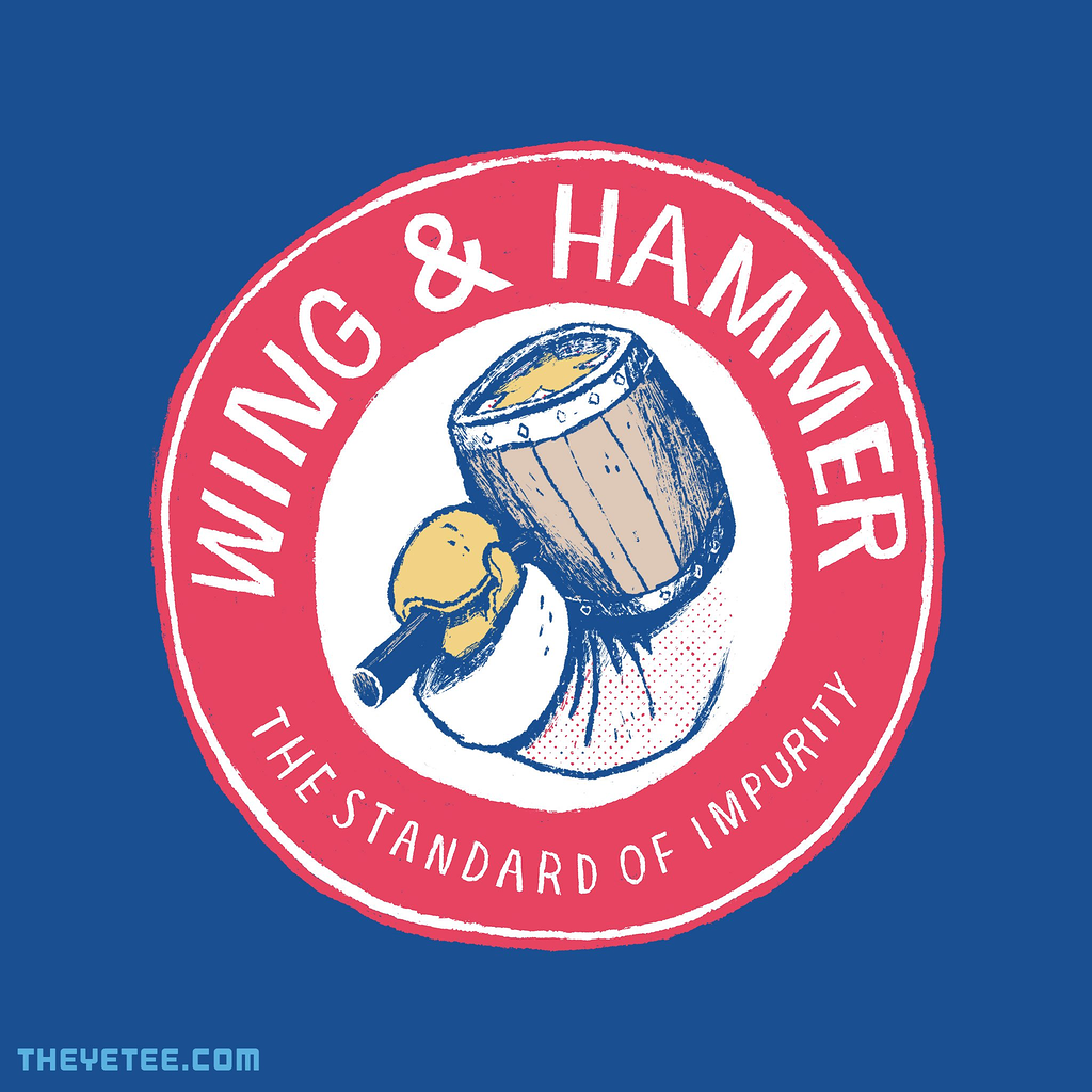 The Yetee: wing and hammer
