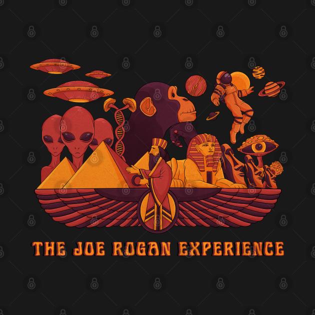 TeePublic: The Joe Rogan Experience - Psychedelic Design