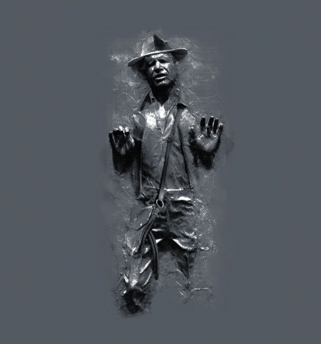 BustedTees: Carbonite Jones