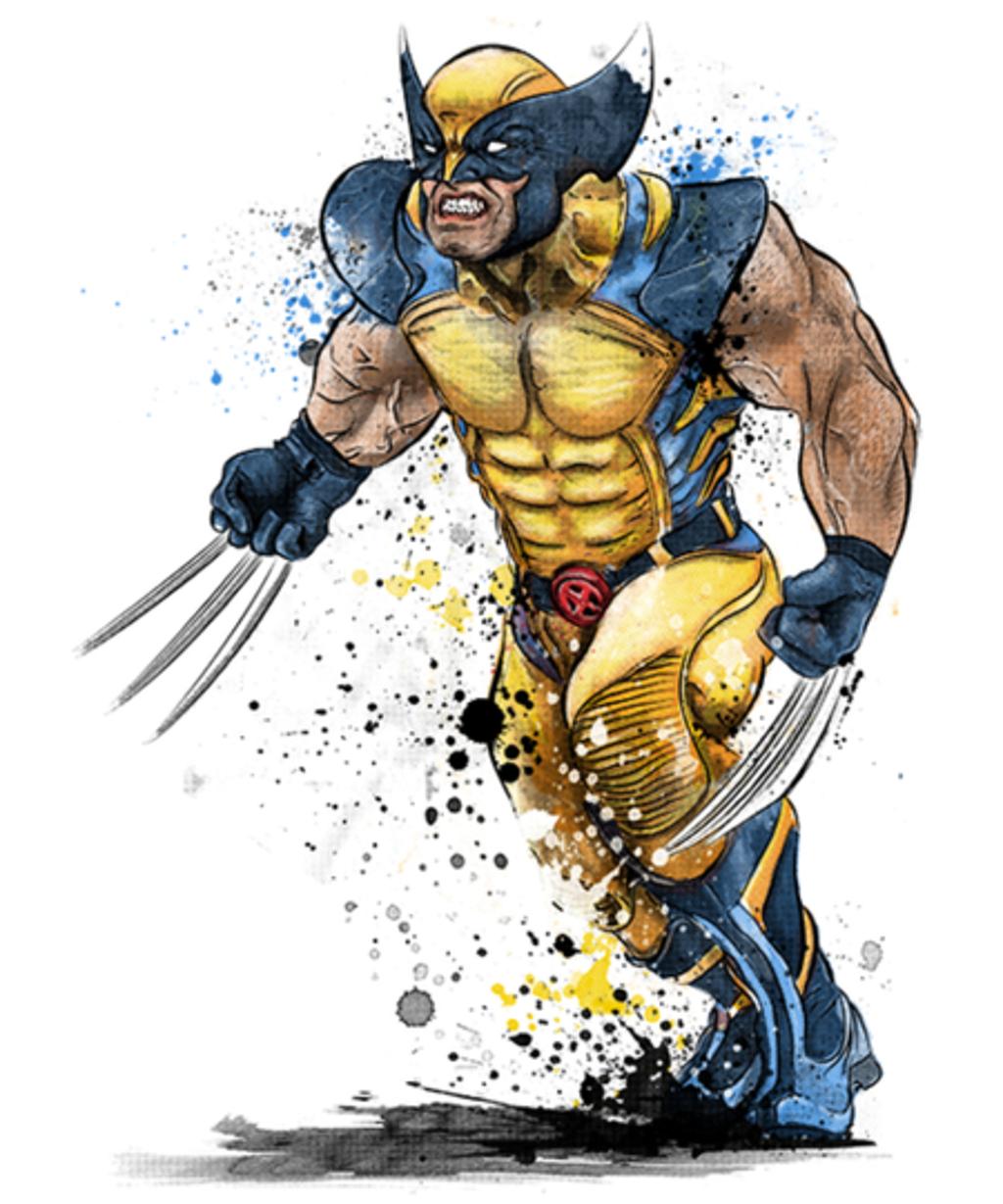 Qwertee: Mutant Rage Watercolor