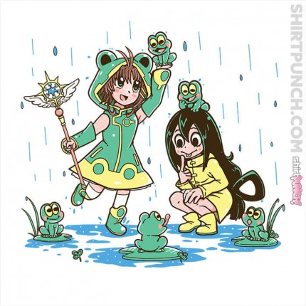 ShirtPunch: Frog Rainy Day