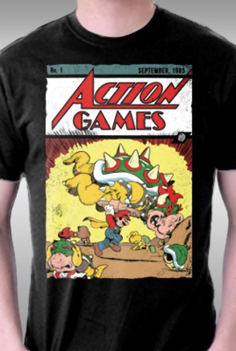 TeeFury: Action Games