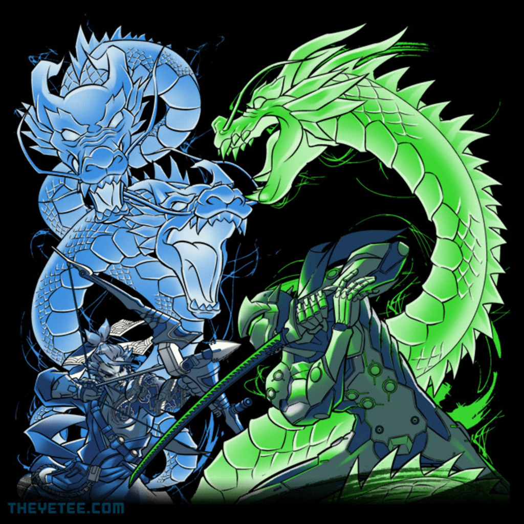 The Yetee: Double Dragon