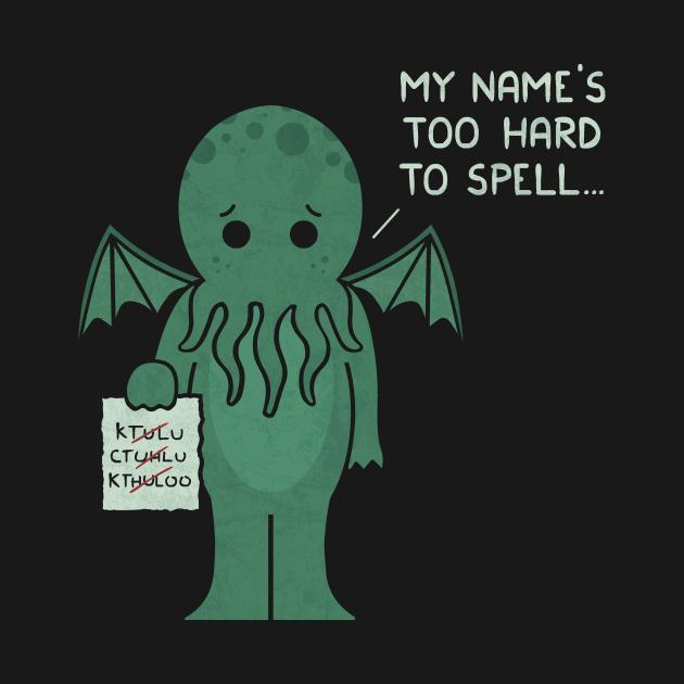 TeePublic: Monster Issues - Cthulhu