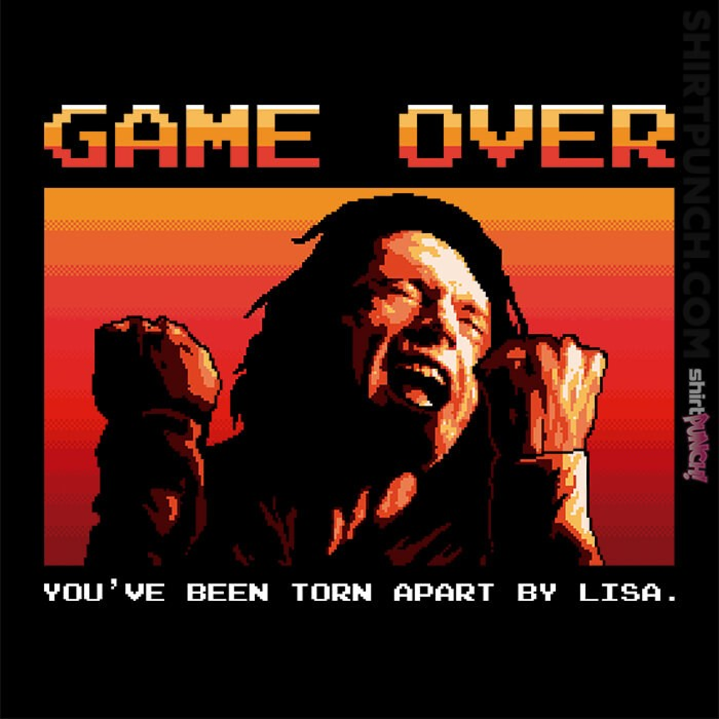 ShirtPunch: Game Over Tommy