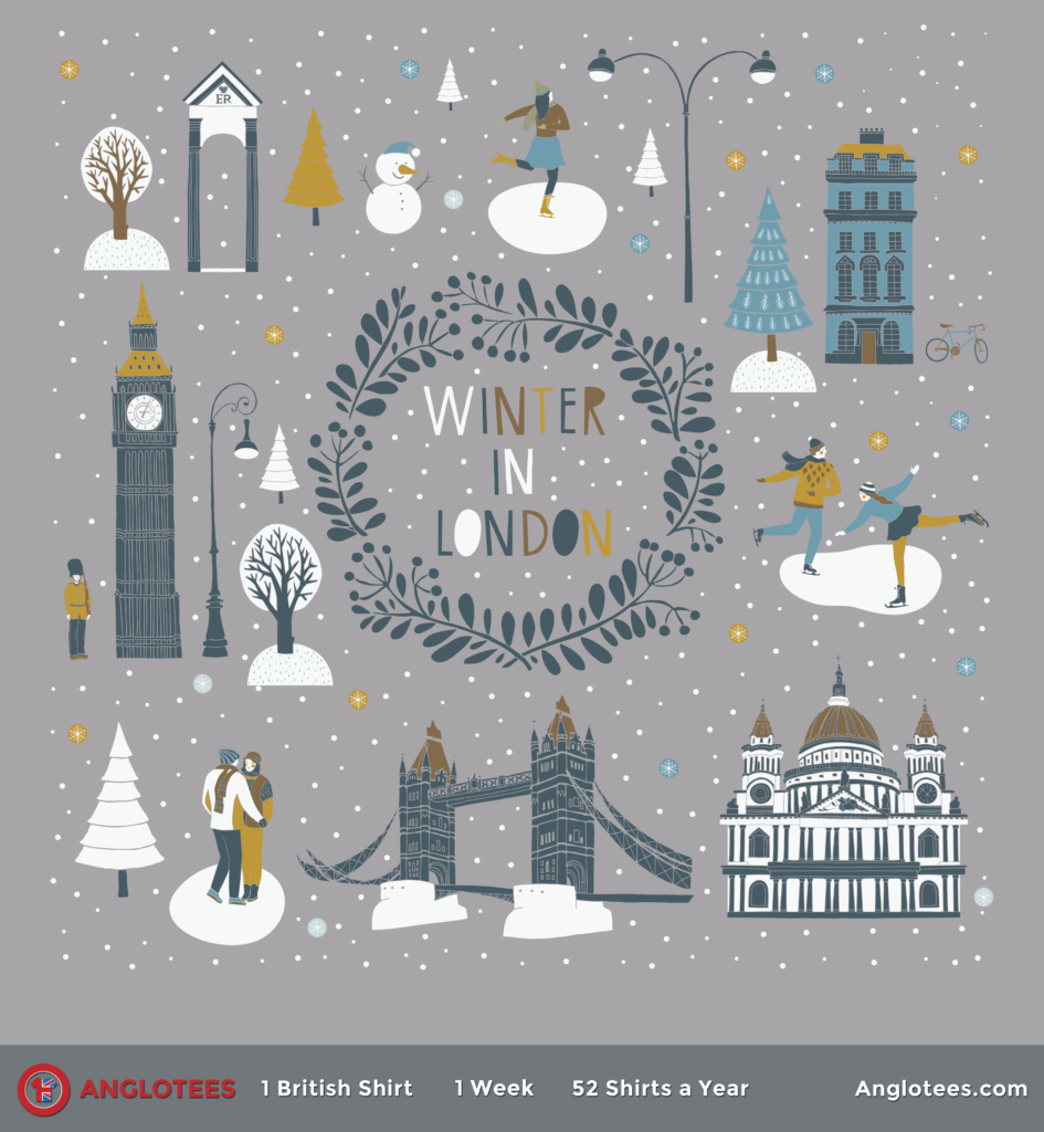 Anglotees: Winter in London