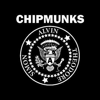 BustedTees: CHIPMUNKS - Hoodie