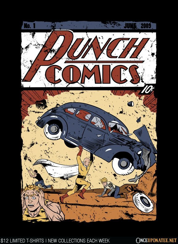 Once Upon a Tee: Punch Comics