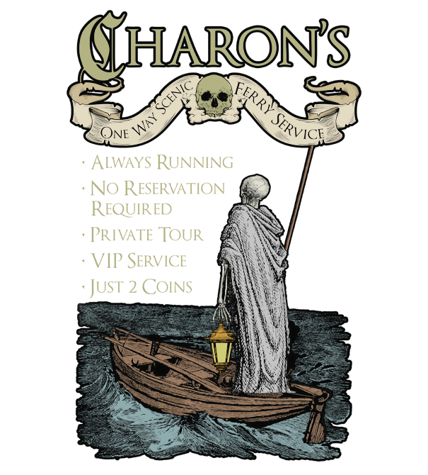 teeVillain: Charon's Ferry Tours