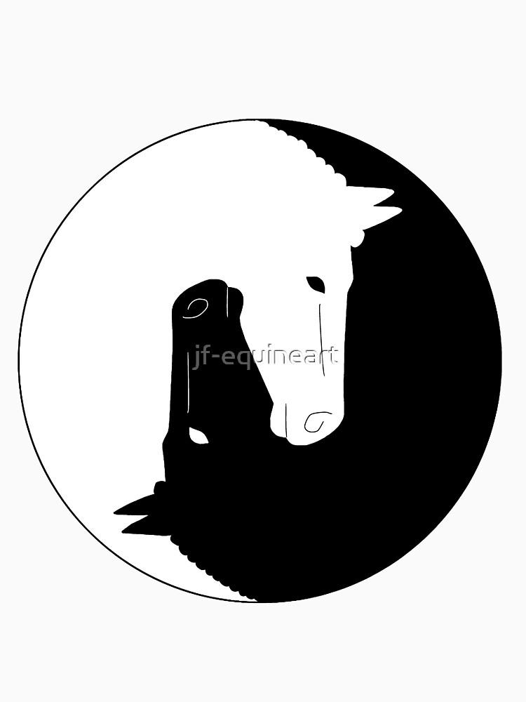 RedBubble: Horse yin yang