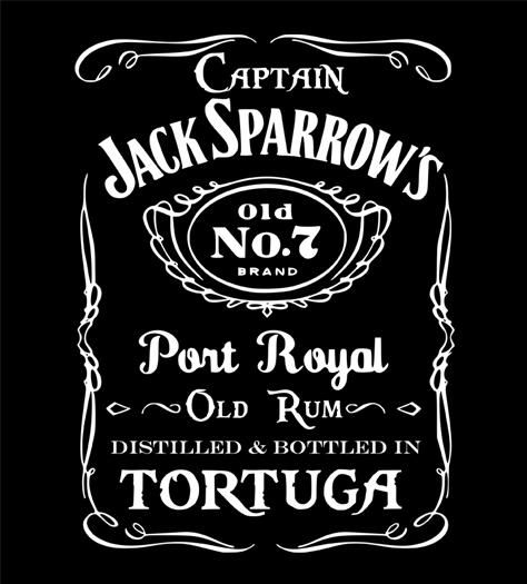 Shirt Battle: Captain Jack Sparrow's Old No.7