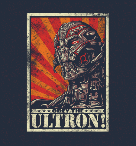 BustedTees: Obey the Ultron!