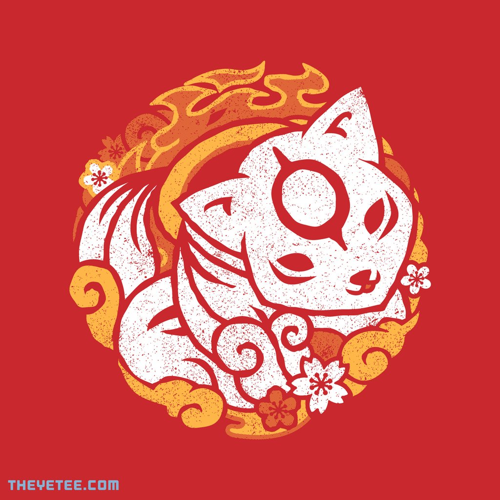 The Yetee: Celestial Wolf Pup