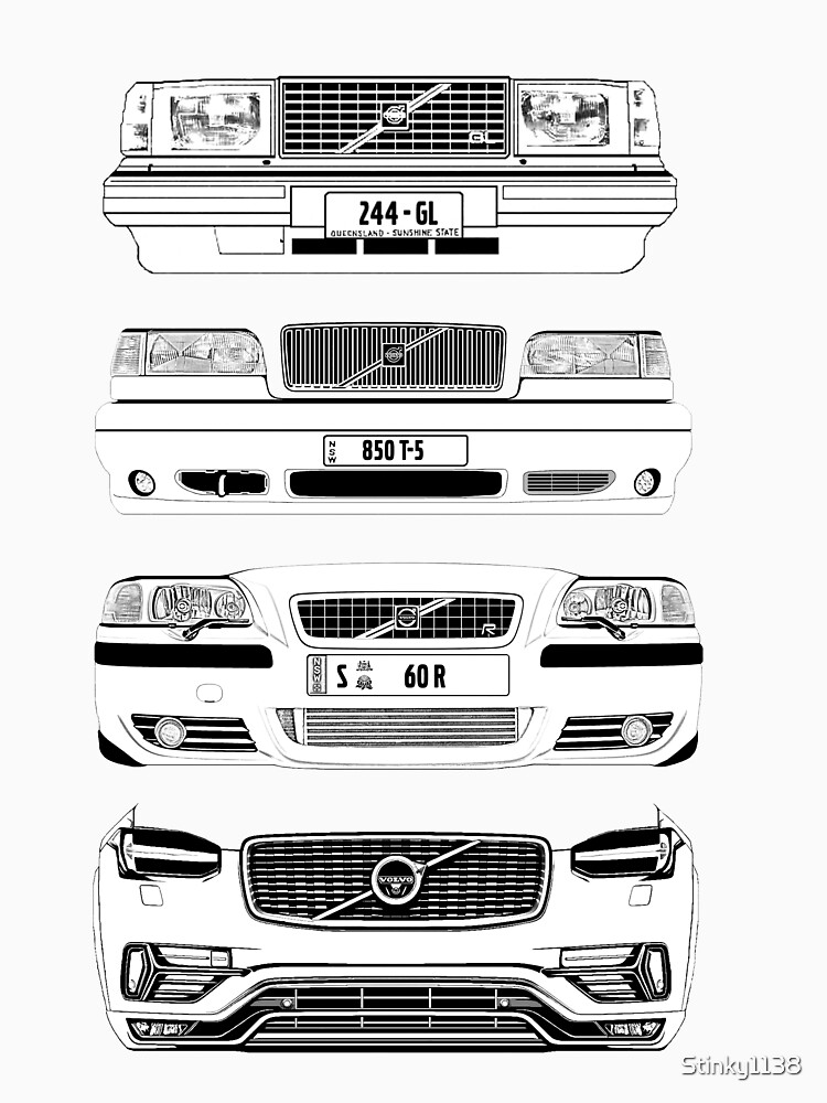 RedBubble: Volvo Fab Four Chassis