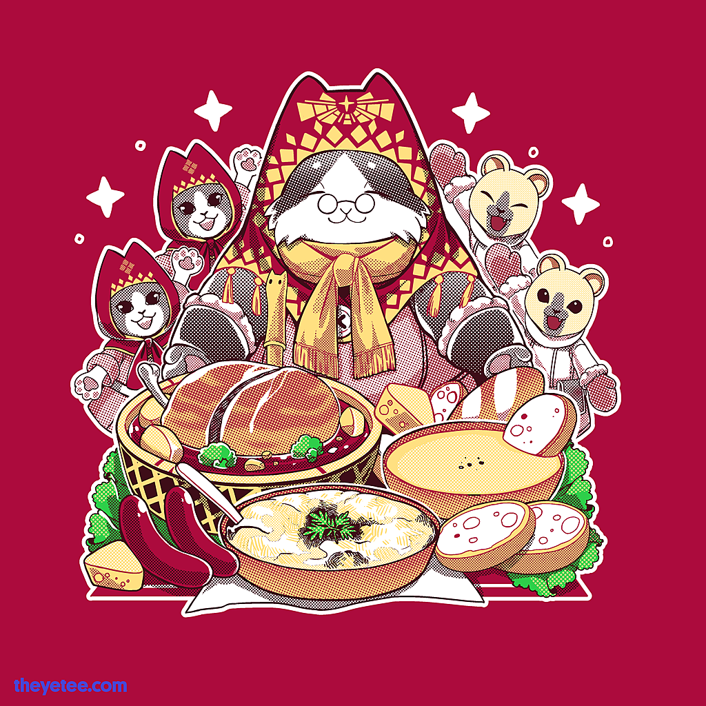 The Yetee: Dinner is ready
