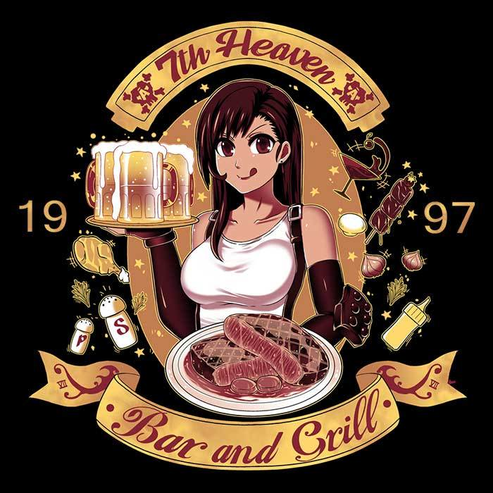Once Upon a Tee: 7th Heaven Bar and Grill