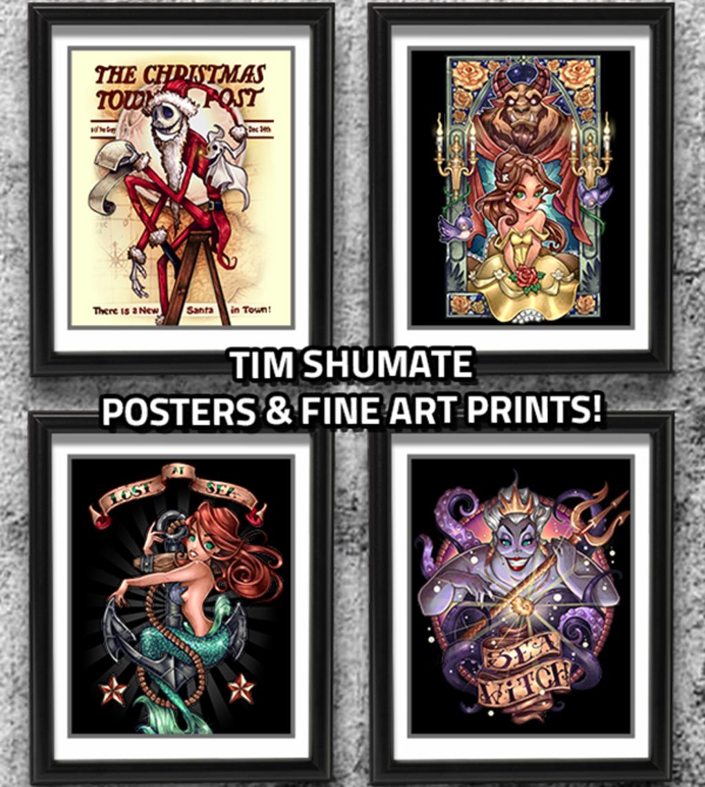 teeVillain: Tim Shumate Collection
