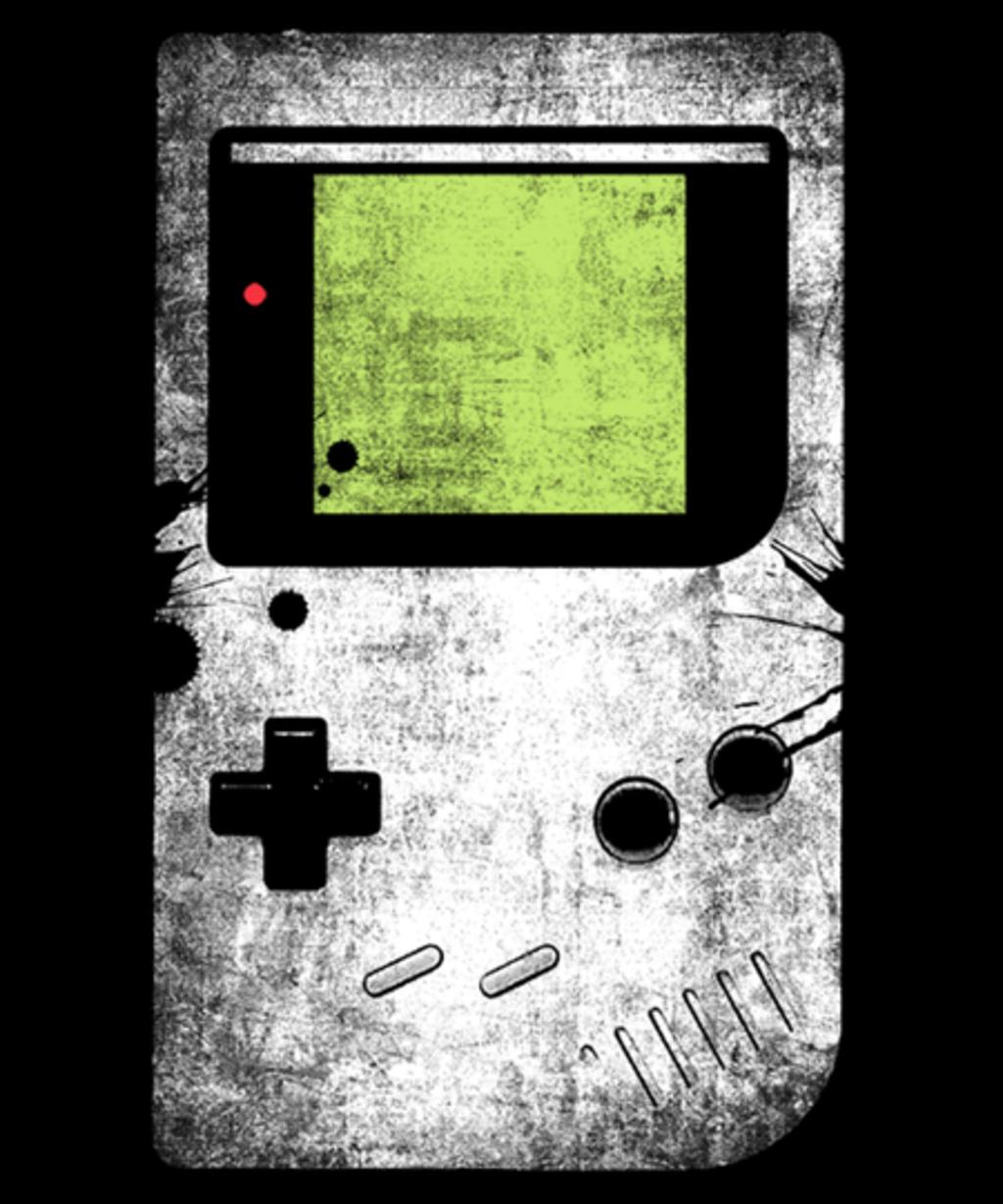 Qwertee: retro gamer
