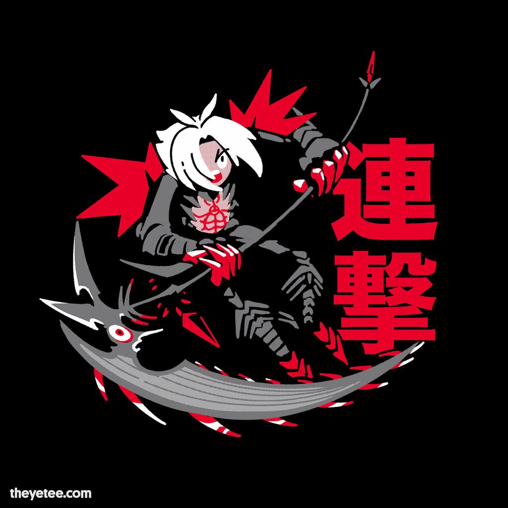 The Yetee: Gamer Reaper