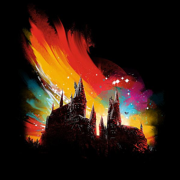 NeatoShop: sunset on hogwarts