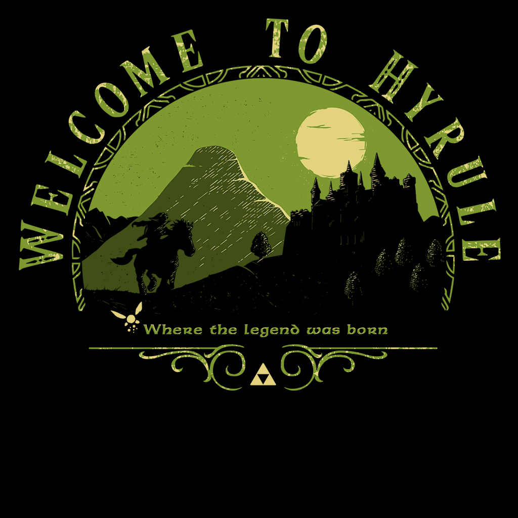 Pop-Up Tee: Welcome to Hyrule