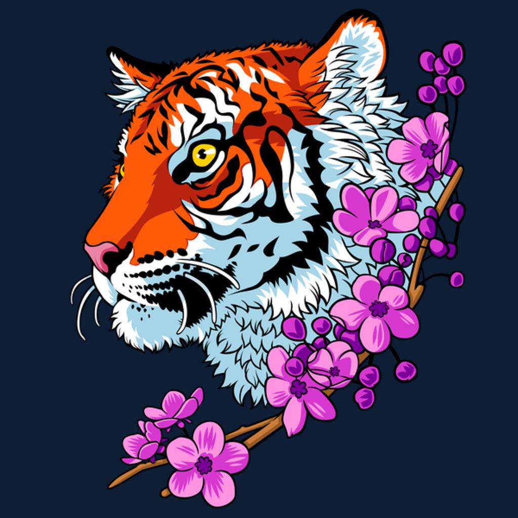 NeatoShop: Tiger flowers Tattoo
