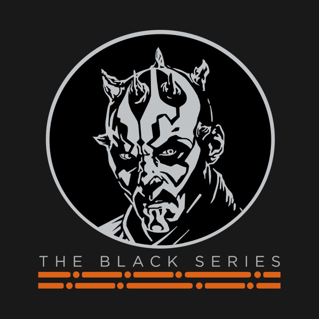 TeePublic: The Black Series: Darth Maul