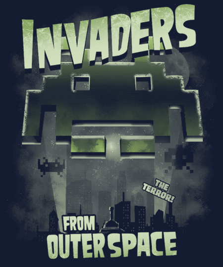 Qwertee: Invaders from Outer Space