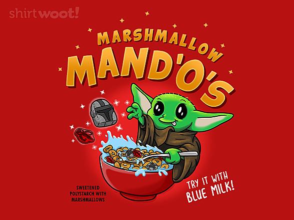 Woot!: Marshmallow MandOs