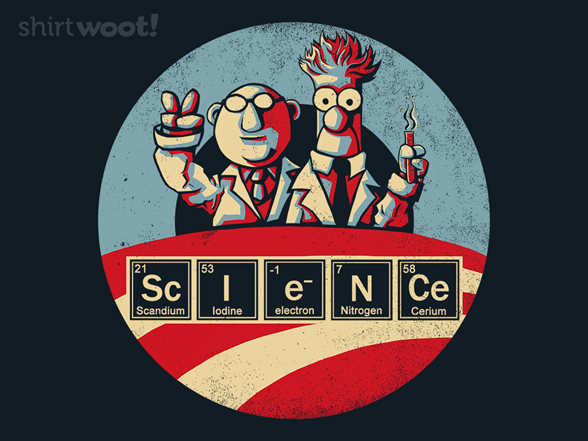 Woot!: Vote for Science!