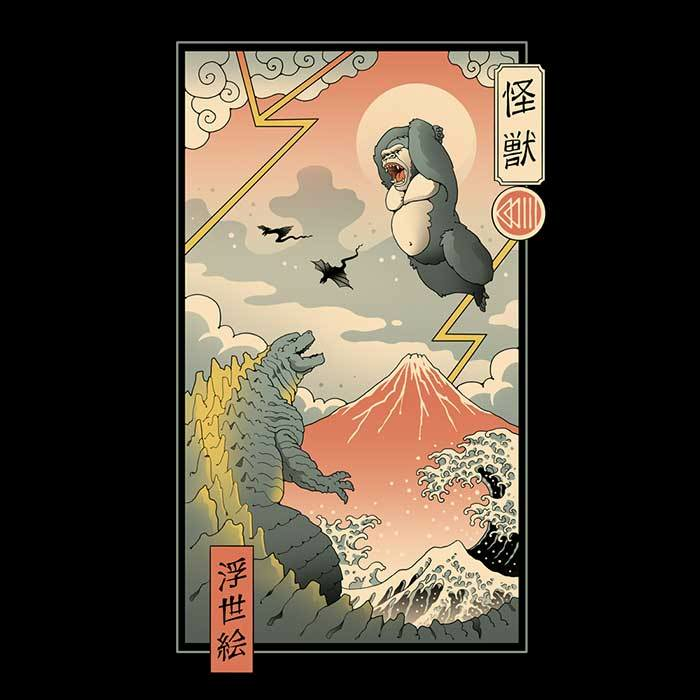 Once Upon a Tee: Titan Fight in Edo