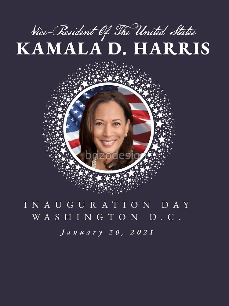 RedBubble: Vice-President Kamala D. Harris Inauguration Day January 20, 2021