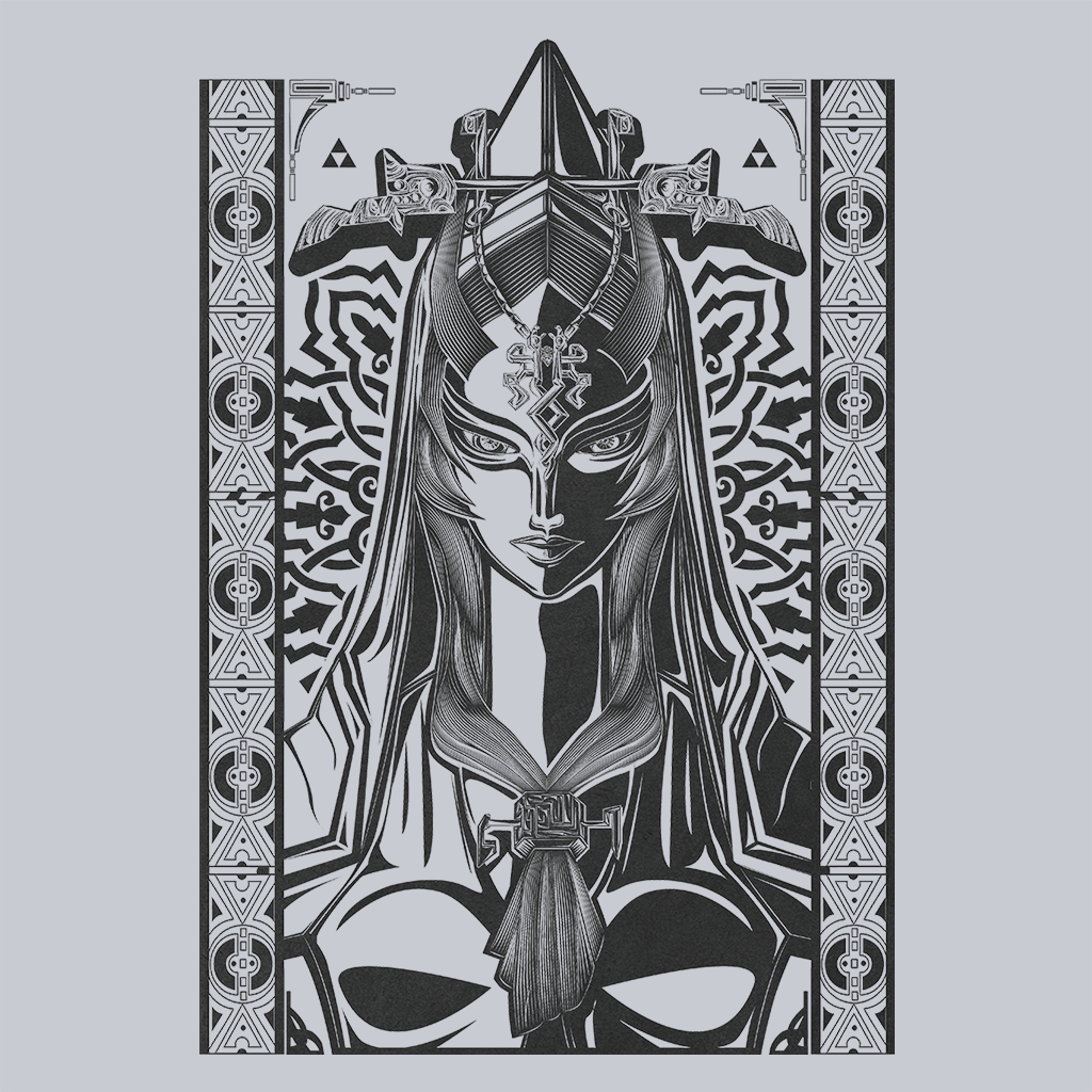 Pop-Up Tee: Twilight Princess Midna Vintage