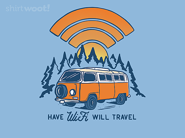 Woot!: Have WiFi Will Travel
