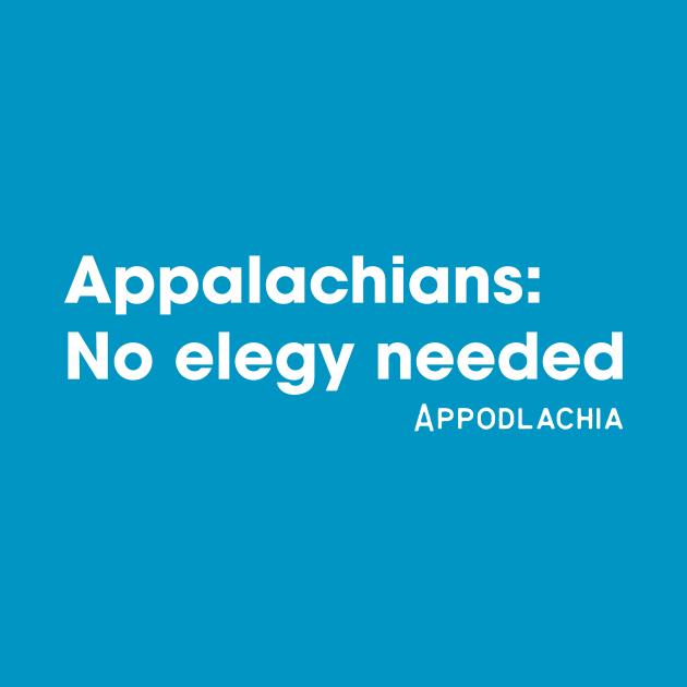 TeePublic: No elegy needed