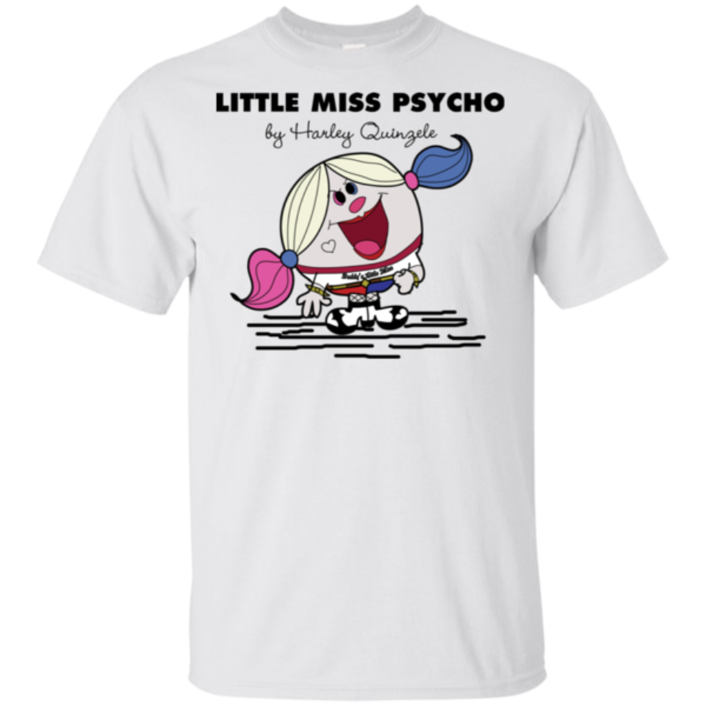 Pop-Up Tee: Little Miss Psycho