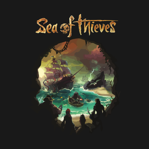 TeePublic: Sea of thieves
