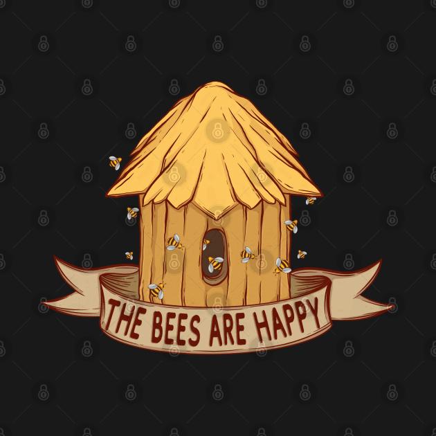 TeePublic: Valheim The Bees Are Happy