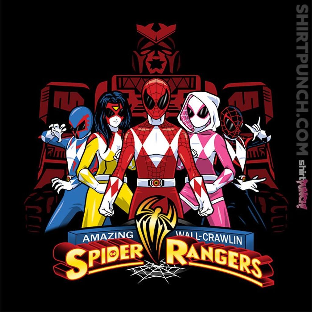 ShirtPunch: Spider Rangers