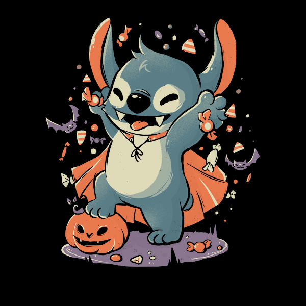 NeatoShop: Spooky Candy Experiment  - Halloween Cute Cartoon Gift