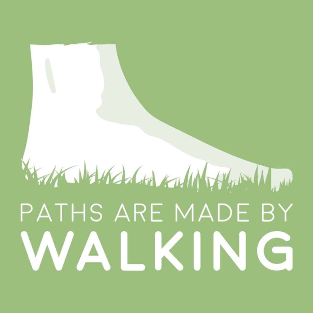 NeatoShop: Paths are made by walking