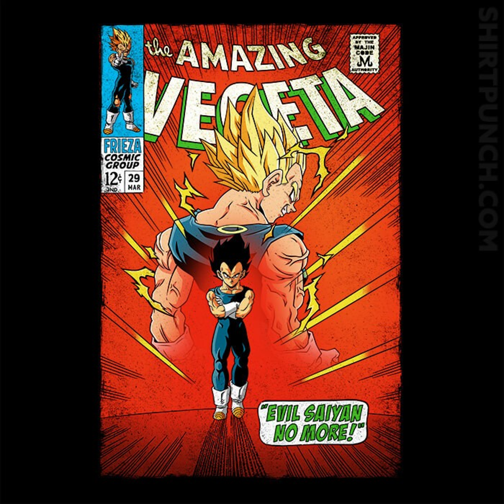ShirtPunch: The Amazing Vegeta
