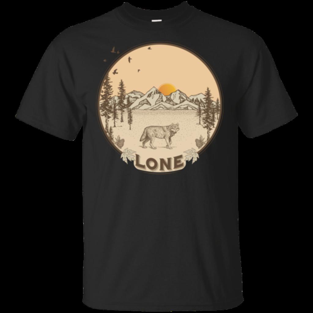 Pop-Up Tee: Lone Wolf